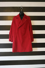 / Gerard Darel Women's Red Coat Double Breasted Front Pocket Size 40