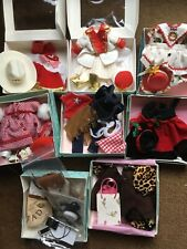 """Lot of Special Edition doll clothes for Madame Alexander or other 71/2-8"""" dolls"""