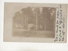 Horse & Cart Carrying Stone 1906 RP Postcard Posted Whitstable 595b