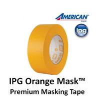 3 Rolls IPG Intertape American OM Automotive Paint Refinishing Masking Tape -USA