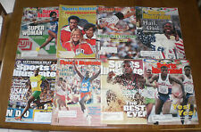 8 OLYMPIC TRACK & FIELD SPORTS ILLUSTRATED  - CARL LEWIS - JOYNER-KERSEE