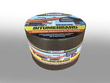 Bitumenband 150mm x 10 m Anthrazit Dachreparatur Aluminiumband Aluband Dichtband