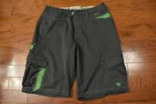 Men's Pearl Izumi Lightweight Casual Mtb Cycling Shorts Gray Xl