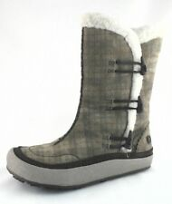 MERRELL Spirit Tibet Plaid Thinsulate Womens Winter Snow Boots US 7.5 EU 38 $165