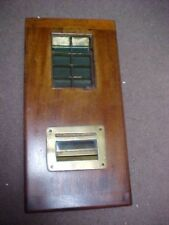 ANTIQUE BRITISH MADE CASH TILL REGISTER RARE GOOD CONDITION FROM AN ENGLISH EST.