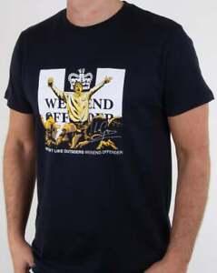 Weekend Offender Leo Gregory T-Shirt - Navy - BNWT