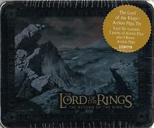 LORD RINGS RETURN OF THE KING 2003 COLLECTIBLE ACTION FLIPZ TIN GOLLUM MOUNTAIN