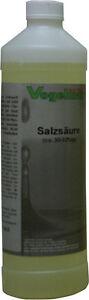 1000 ml Salzsäure ca. 31 % technisch