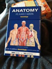 Anatomy Flash Cards Quickstudy