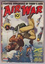 AIR WAR Spring1944 Aviation Pulp DAVID GOODIS Robert Sidney Bowen Joe Archibald