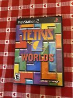 Tetris Worlds Playstation 2 PS2 Video Game Complete