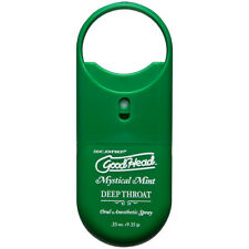 Doc Johnson GoodHead Deep Throat To Go Oral Anesthetic Spray - Mint - Flavored L
