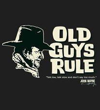 """Old Guys Rule John Wayne """" Talk Low """" Duke True Grit Western M"""