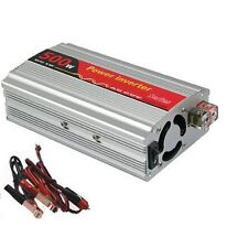 Car Power Inverter with USB Port for Laptops, Mobile 500 Watts 12v DC to 220v AC