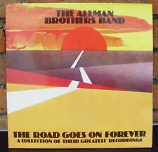 2 LP – THE ALLMAN BROTHERS BAND / THE ROAD GOES ON FOREVER vinyl
