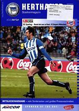 BL 2002/03 Hertha BSC - FC Bayern München, 10.05.2003 - Poster Marcelinho