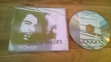 CD Pop Urban Species - Woman (1 Song) Promo MERCURY POLYGRAM sc
