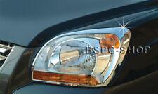 Zubehör für Kia Sportage 2004-2008 Chrom Scheinwerferrahmen Blenden Head Lamp