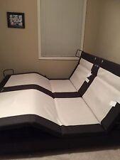 Reverie 8Q Split California King Adjustable Bed Powerframe