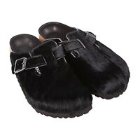 Birkenstock Unisex Classic Boston Black Sandals PN: 101220103546