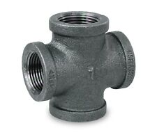 """EVERFLOW SUPPLIES BMRC2124 2-1//2 X 1-1//2/"""" BLACK MALLEABLE IRON REDUCING COUPLING"""