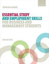 Essential Study and Employment Skills for Business and Management Students by...