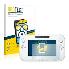 2x BROTECT Displayschutzfolie Klar Nintendo Wii U GamePad (Controller)
