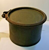 Vintage Militaria WWII MIRAX FILM CONTAINER Green Metal Round AN8029-23 St Louis