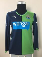 Newcastle United Long Sleeve Third Football Shirt Jersey 2014/15 (S)