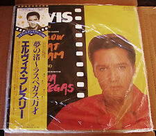 Elvis Presley Follow That Dream & Viva Las Vegas RARE JAPAN LP SEALED OBI MINT