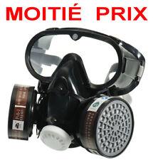 MOITIÉ PRIX  Masque respirateur de protection professionnel 3en1 + 2 filtres PRO