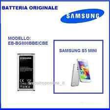 SAMSUNG S5 MINI BATTERIA ORIGINALE EB-BG800CBE 2100 MAH
