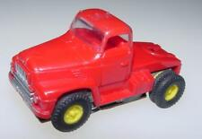 AURORA MODEL MOTORING HO SLOT CAR VIBE RED / RED SEMI TRACTOR TRUCK CAB #1580