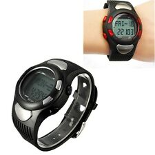 Sports Fitness Watch Pedometer Pulse Heart Rate Calories Monitor
