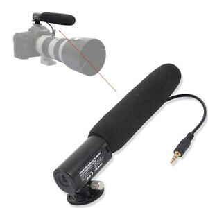 DC/DV 3.5mm Mikrophone fr Canon 90D/80D/70D/800D/750D/700D/R6/R5/R1/R/RP