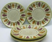 Red Wing Pottery Pepe Saucers set of 4