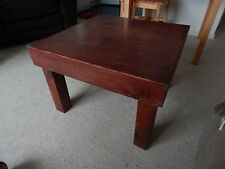 Solid Wood Less than 30 cm Width Square Coffee Tables