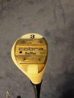 RARE Vintage Cobra Golf BAFFLER White Pearl 3 WOOD Right Handed Graphite REGULAR
