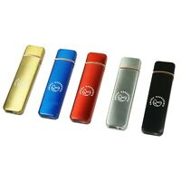 Flameless Windproof Cigarette Lighter Electronic Touch Sensor USB Rechargeable