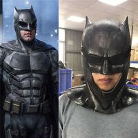 Justice League Batman Mask Cosplay Costume Superhero Latex Adult Halloween Masks