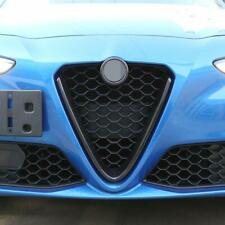 For Alfa Romeo Giulia 2017-2020 ABS Carbon Fiber Front Grille Decoration Frame