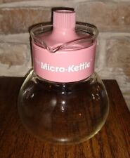 Gemco Pink Micro-Kettle Microwave Tea Kettle Coffee Pot 4 cup Vintage