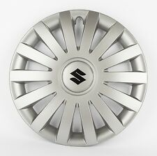 "Suzuki Genuine Set Of 4 15"" Wheel Trim Cover Hub Caps in Anthracite 990E0-86G38"