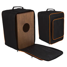 Lindo Deluxe Padded Cajon Drum Bag with Zip Pocket Carry Handle Shoulder Straps