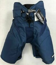 New Sherwood Chl Rm9 Senior Ice Hockey Player Pants Sr Large Navy equipment pant