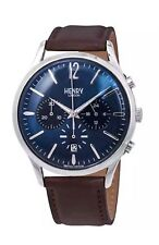 Henry London Knightsbridge Chronograph Blue Dial Men's Watch HL41-CS-0107