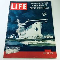 VTG Life Magazine July 27 1959 - A New Kind of Great White Fleet Mercy Mission