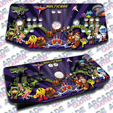 Multicade X Arcade Artwork Tankstick Overlay Graphic Sticker