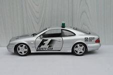 MERCEDES-BENZ CLK AMG SAFETY CAR 1/18 SILVER ANSON SUPERBE