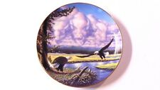 RETURN TO THE PLAINS Danbury Mint Ltd Edition Num Plate by John Van Straalen EUC